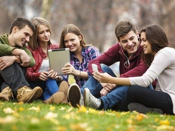 Academia de Mitja en Valencia - grupo de estudiantes