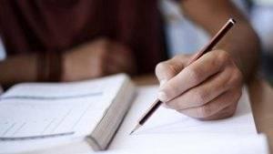 examen oficial de inglés en Valencia - examen en papel