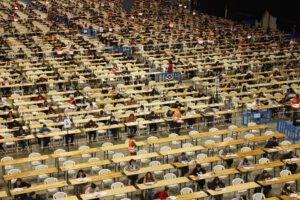 oposiciones para hacienda en Valencia - examen